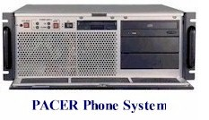 phone message broadcasting system