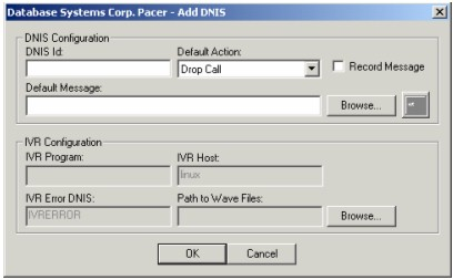 voice broadcast ACD Configuration